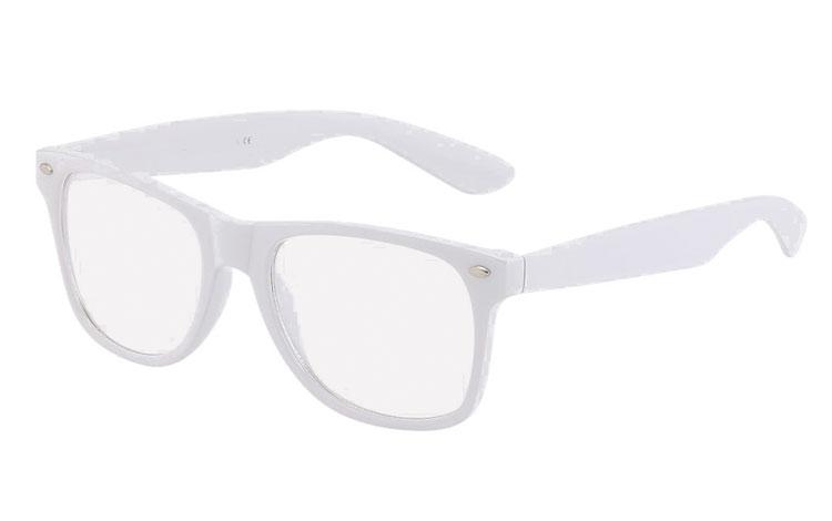 01d692ab6a01df Witte bril met helder glas