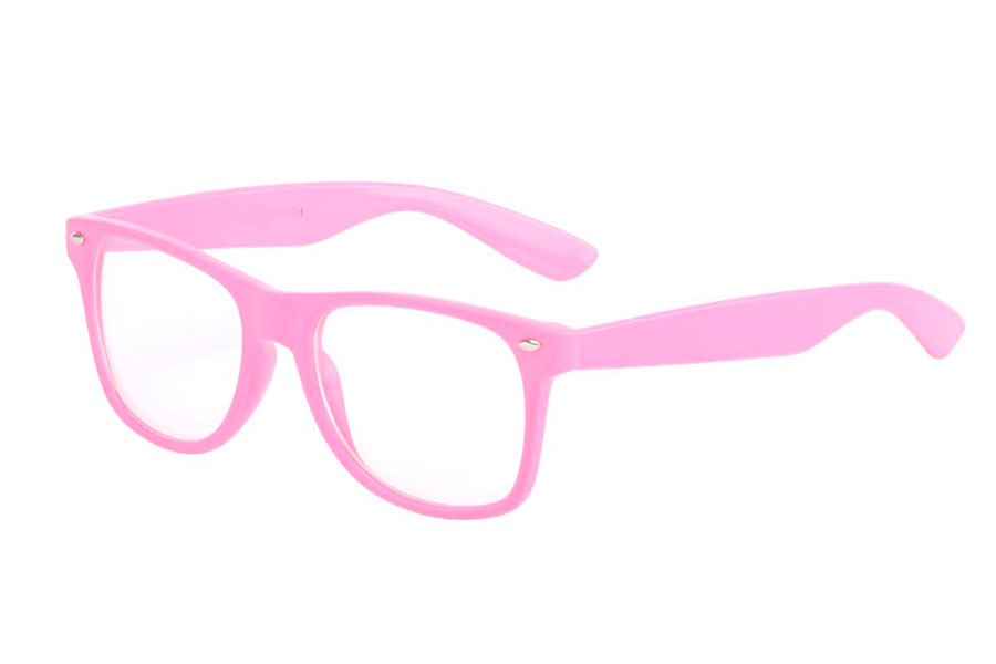 Roze brill in wayfarer model - Design nr. 834